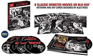 Universal Classic Monsters: The Essential Collection (Limited Edition Alex Ross Steelbook) [Blu-ray]