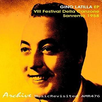 VIII Festival Della Canzone - Sanremo 1958 EP