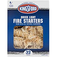 32-Count Kingsford Quick Light Fire Starters (BB12068)
