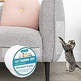 Cinta adhesiva para muebles de entrenamiento de gato para evitar arañazos y arañazos