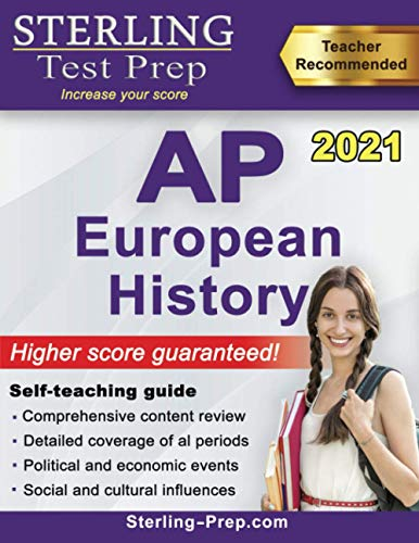 Sterling Test Prep AP European History: Complete Content Review for AP Exam