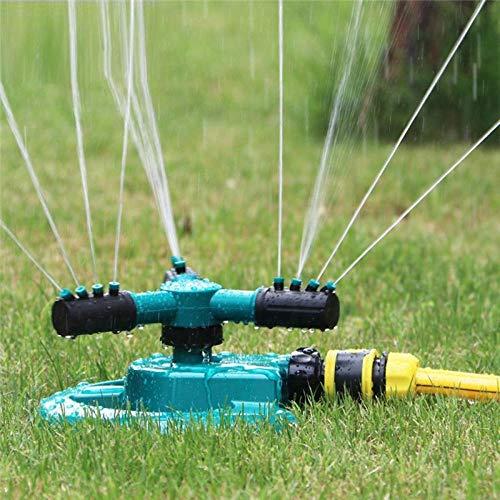 Automatische Sprinkleranlage 360 Grad 3-Arm-Sprinkleranlage für Rasen & Garten