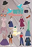 Outfit Planner: Clothes Organizer,Clothes Wardrobe Clothing Planning, Daily, Weekly, Monthly Fashion Planner, Gifts for Fashion (Wardrobe Planner) ( 6x 9and 80page)