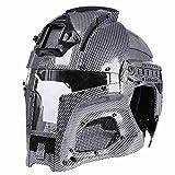 Casco táctico militar balístico lateral NVG cubierta transferencia base ejército combate airsoft paintball máscara completa casco