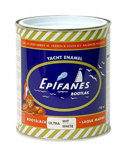 EPIFANES 1K Bootslack weiß 2000 ml/Dose E2-3