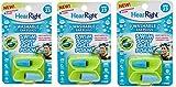 HearRight Swim Soft Ear Plugs Waterproof Ear Plugs for Swimmers Ear (3-Pack)