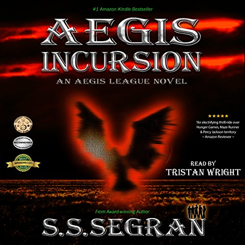 Aegis Incursion audiobook cover art