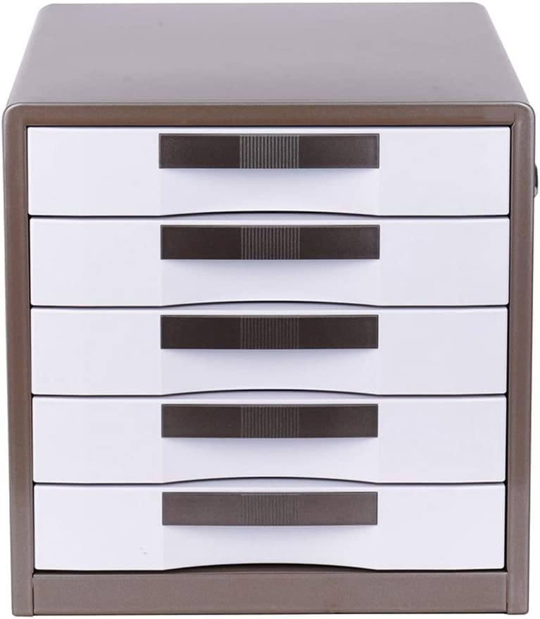 YonCog Five-Layer Durable Locked Directly managed store Metal File Popularity Desktop Cabinet Data
