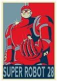 Instabuy Poster Robot Propaganda Super Robot 28 - A3 (42x30 cm)