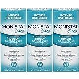 Monistat Care Maximum Strength Instant Itch Relief Cream, 1 Ounce each (Value...