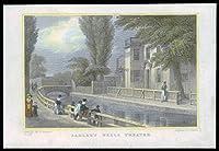 1831ロンドン - SADLER'S Wells Theatreのオリジナルアンティークプリントビュー(52)