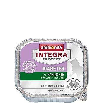 Animonda Integra Protect Le diabète Régime Doublure de Nourriture pour Chat Le diabète Diabetes mellitus