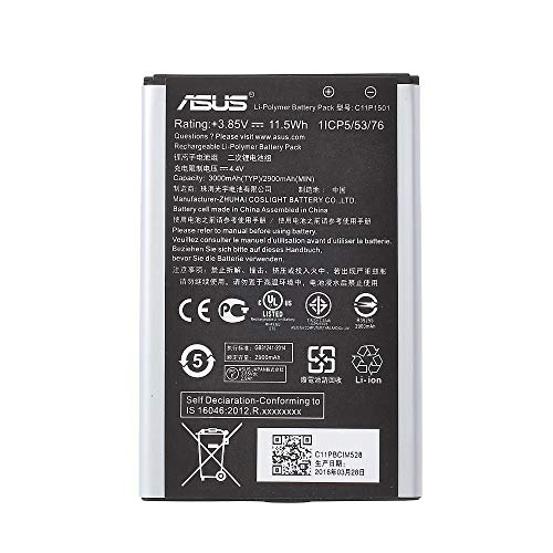 BEST2MOVIL - Batteria interna C11P1501 3000 mAh compatibile con ASUS ZENFONE 2 Laser ZE600KL ZK601KL ZE550KL