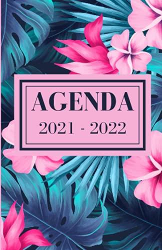 Agenda 2021 - 2022: Organisateur Journalier Pour Étudiants | Planificateur scolaire pour La Période d'Août 2021 à Juillet 2022 | Primaire - Collège - Lycée
