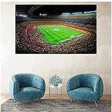 DLFALG España Fc Barcelona lienzo pintura HD impresión deportes fútbol carteles pared arte imagen impresión sala de estar decoración del hogar-50x70cm sin marco