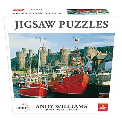 Goliath- Rompecabezas para Toda la Familia Puzzle Paisajes Muelle de Conway - Gales (71373006)