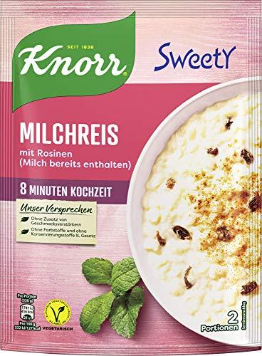 Knorr Sweety Milchreis, 2 Portionen, 7er Pack (7 x 195 g)