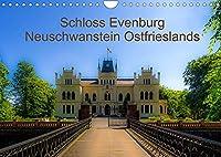 Schloss Evenburg - Neuschwanstein Ostfrieslands (Wandkalender 2022 DIN A4 quer): Ein persoenlicher Blick auf Schloss Evenburg. (Monatskalender, 14 Seiten )