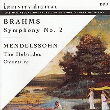 Brahms: Symphony No. 2 in D Major, Op. 73 - Mendelssohn: The Hebrides, Op. 26, MWV P 7