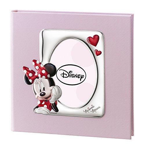 Valenti & Co _ Album peinture avec technique 3d _ Argent _ Disney Minnie souris _ _ 30 x 30