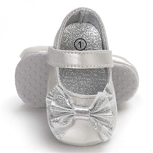 Infant Silver Dress Shoes