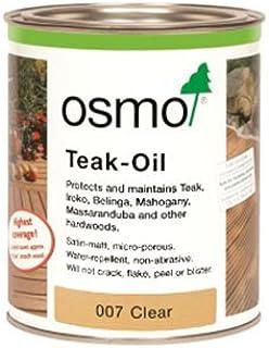 Osmo Teaköl 007, klares Holz- und Terrassenöl, 125 ml