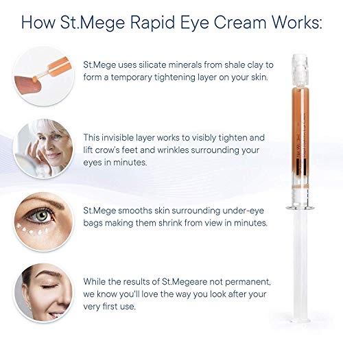 Anti-Aging Cream, Rapid Eye Cream, Instantly Reduces Eye Bag, Wrinkles and Dark Circles