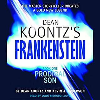 Frankenstein, Book One: Prodigal Son audiobook cover art