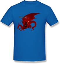QMY Men's Geek Dragon Age Origins T-Shirts RoyalBlue