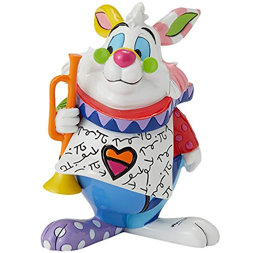 Disney Britto White Rabbit Mini Figur