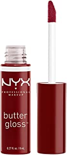 (Red Wine Truffle) - NYX Professional Makeup Butter Gloss, Red Wine Truffle, 0.27 Fluid Ounce