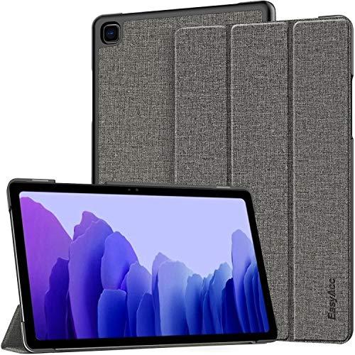 EasyAcc Hülle Kompatibel mit Samsung Galaxy Tab A7 10.4 2020-Ultra Dünn mit Standfunktion Slim PU Leder Smart Schutzhülle Passt Kompatibel mit Samsung Galaxy Tab A7 10.4 2020 SM-T500/SM-T505,Grau