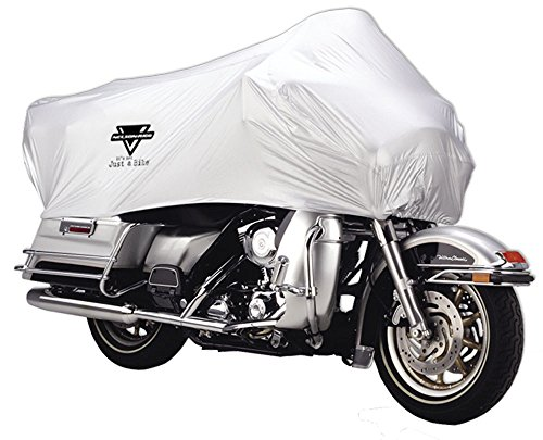 NelsonRigg UV200004XL Silver XLarge UV2000 Motorcycle Half Cover