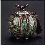 Urna para Cenizas Humanos Mini cremación urnas for Mascotas urnas funerarias urna de cremación for una pequeña cantidad de Cenizas humanas Tanque de Almacenamiento portátil QAF0930 (Color : #5)
