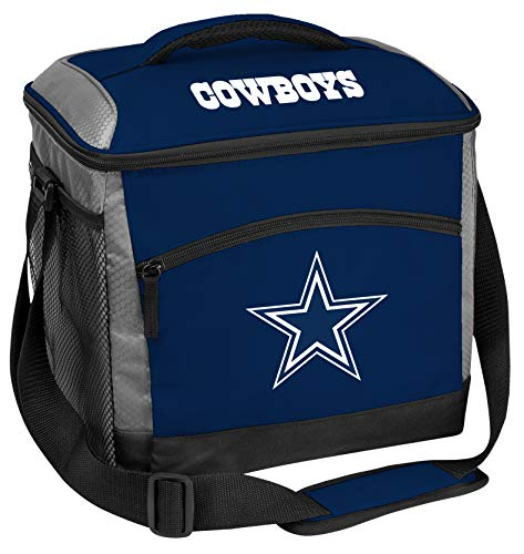 Rawlings NFL Soft-Sided Insulated Cooler Bag, 24-Can Capacity, Dallas Cowboys