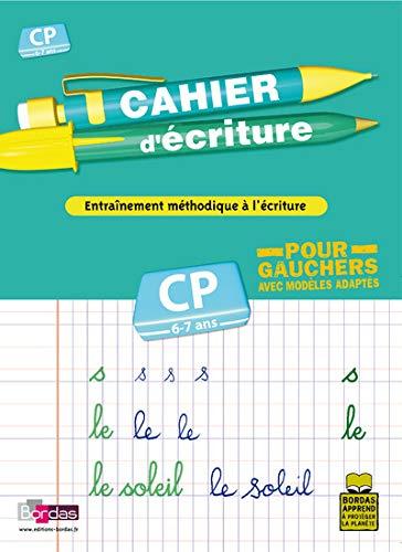 CAHIER ECRIT CP POUR GAUCHER