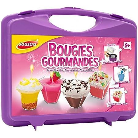 Le plus r/écent kit de fabrication de bougies,coffret cadeau de bougies parfum/ées bricolage,m/èches,autocollant,bo/îtes de conserve,bouteilles,cuill/ère en acier inoxydable m/èche de s/écurit/é stabilisateur