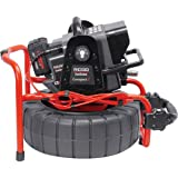 RIDGID 48103 SeeSnake Compact2 System with Self-Leveling Pipe Inspection Camera and Sonde (Transmitter) for Pipe Location (Battery Sold Separately),Black