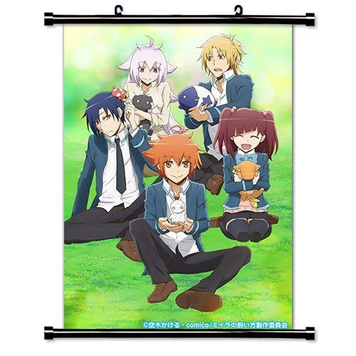 Laohujia How to Keep a Mummy (Miira no Kaikata) Anime Fabric Wall Scroll Poster (32x45) Inches