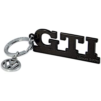2pcs Tag KeyChain For Volkswagen GTI Car Key Chain Accessories Sporty Gifts