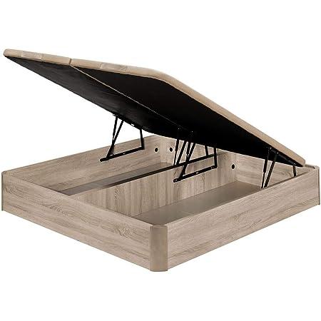 Santino Canapé Abatible Wooden Gran Capacidad Cerezo 180x190 ...