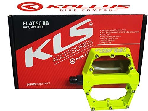 Cicli Puzone Pedali KELLYS Flat 50 BB (Giallo Fluo)