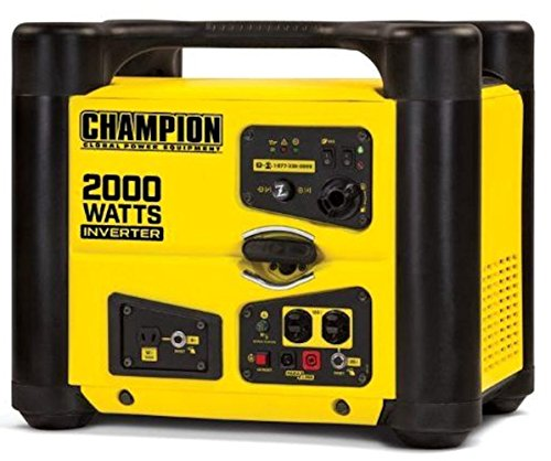 Champion 100148 2000-Watt Stackable Portable Inverter Generator w/ParaLINK