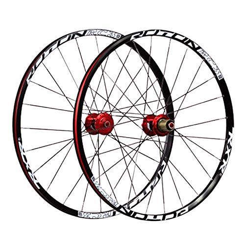 Ruedas BMX Juego Ruedas Bicicleta 24' Llanta Aleación Doble Pared Freno Disco Rodamiento Sellado Cubo Fibra Carbono QR 8/9/10 Velocidad para Bicicleta Plegable 24H
