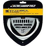 Jagwire Sport Shift XL Kit Guaine e Cavi per Deragliatore Adulto, Unisex, Bianco, Taglia Unica