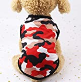 Mignon Chien Vêtements À Capuche Vêtements pour Animaux De Compagnie Manteau De Chien Doux Vêtements pour Animaux De Compagnie 9-11 Kg Rouge