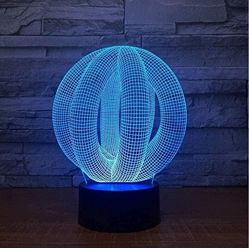 Baby Spielzeug 3D LED lámpara luz de noche USB lámpara de lava colorida para boda Innovadora oficina fiesta decoración regalo regalo regalo