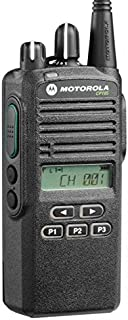 CP185 UHF AAH03RDF8AA7AN Original Motorola 435-480 MHz Handheld Two-way Radio Transceiver 4 Watts, 16 Channels Black - 2 Year Manufacturer Warranty