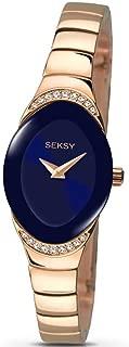 Womens Analogue Classic Quartz Watch with Brass Strap 2306.37