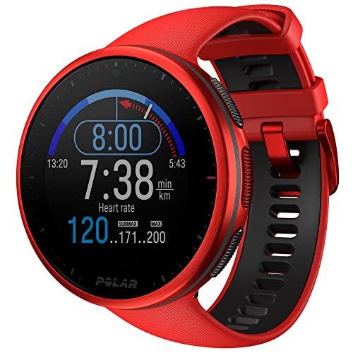 Polar Vantage V2 – Premium Multisportuhr GPS Smartwatch – Pulsmessung am Handgelenk für Laufen, Schwimmen, Radfahren – Musiksteuerung, Wettervorhersage, Smart Notifications